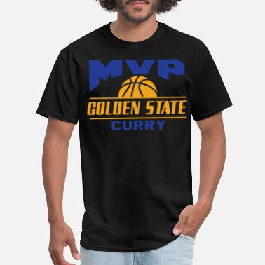 Stephen Curry Golden State Warriors Stephen Curry MVP Jersey sof - Men's T-Shirt