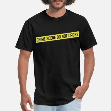 Crime Scene Crime Scene - Men's T-Shirt