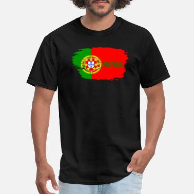 Made In Portugal Portugal Portugal Flag - Men's T-Shirt