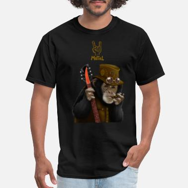 The Smoking Ape smoking ape - Men's T-Shirt