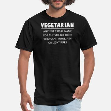 d773f9f2 Anti Vegan Vegan - anti vegan - vegetarian funny - Men's T
