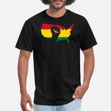 Young Black Educated African american - african american black power - Men's T-Shirt