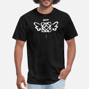 Companion Companion Cube Black - Men's T-Shirt