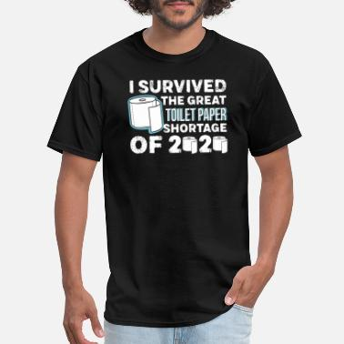 Paper Planes I survived the great toilet paper shortage of 2020 - Men's T-Shirt