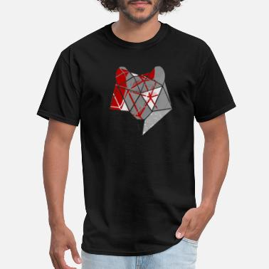 Abstract Wolf Abstract Wolf - Men's T-Shirt