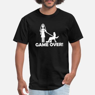 Game Over Engagement Game Over - Men's T-Shirt