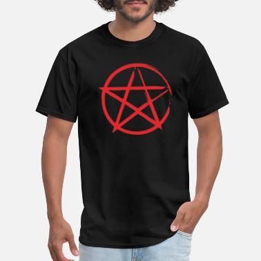 Circle Star Star in Circle - Men's T-Shirt