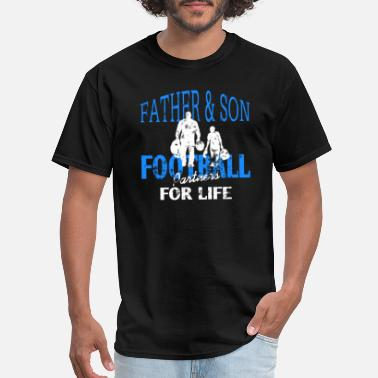 Football Father Father Son Football - Men's T-Shirt