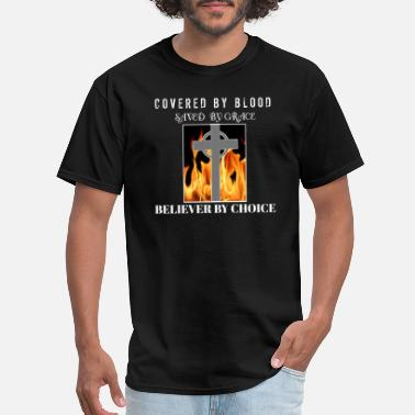 Covered In The Blood Covered by blood - Men's T-Shirt
