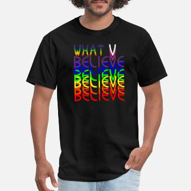 Kabbalah WHAT V BELIEVE - Men's T-Shirt