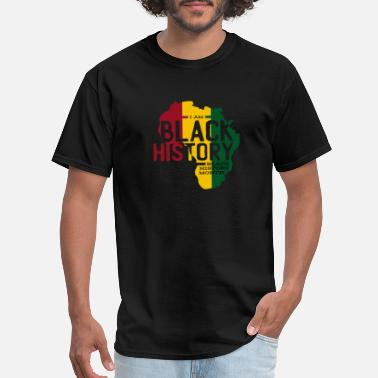 Black History Month Black History Month African American saying - Men's T-Shirt