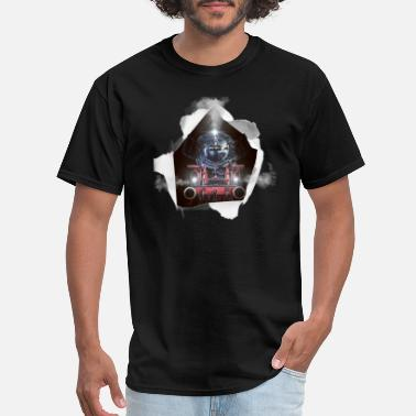 Steam Locomotive Steam Locomotive - Men's T-Shirt