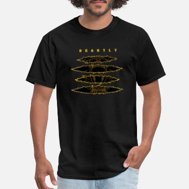 Clc CLC Beastly InspirVation Fitness Shirt Blk/Gold - Men's T-Shirt