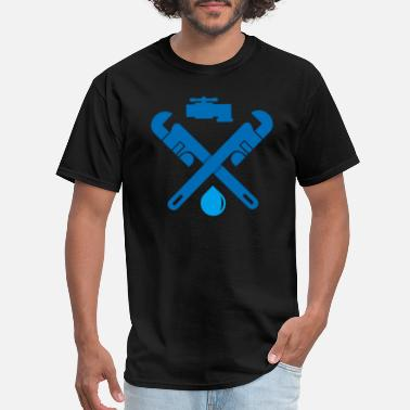 Wasted repair plumbing 27 - Men's T-Shirt