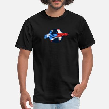 Cockfighter Puerto Rico Rooster Cockfighting - Men's T-Shirt
