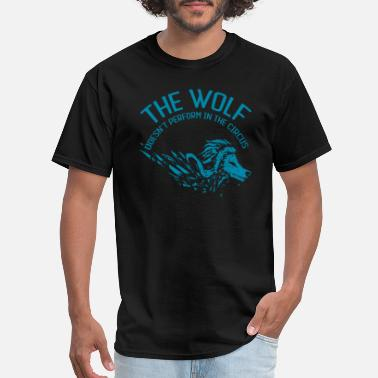 Clue the wolf not circus 19 - Men's T-Shirt