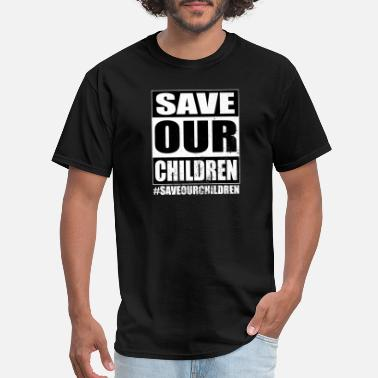 Save SAVEOURCHILDREN SAVE OUR CHILDREN 2020 Premium - Men's T-Shirt