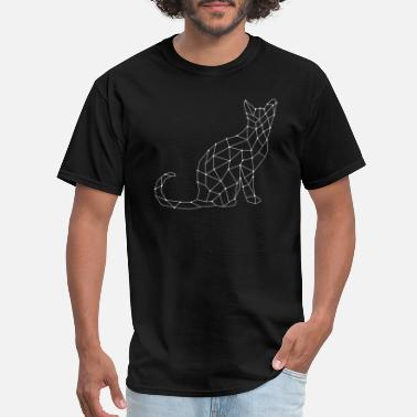 Mosaic Art cat mosaic - Men's T-Shirt