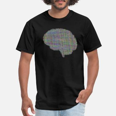 Brain Quote Brain - Men's T-Shirt