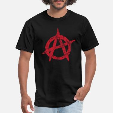 Anarchy Symbol of anarchy anarchie Anarchie anarquia - Men's T-Shirt