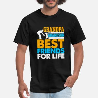 Grandpa And Grandson Best Friends For Life Grandpa And Grandson Best Friends For Life - Men's T-Shirt