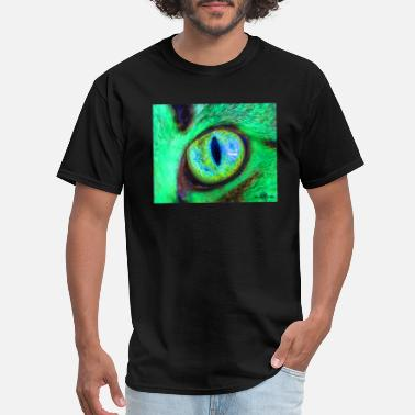 Wild Eyes Green Cats Eye Dragons Eye - Men's T-Shirt