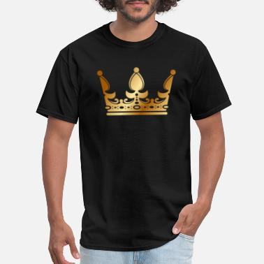 King Of Rap golden crown the king of rap drawing graphic arts - Men's T-Shirt