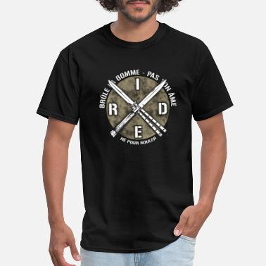 Motard Ride ne pour rouler - Men's T-Shirt