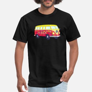 Hippie-bus Hippie Bus - Men's T-Shirt