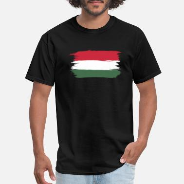Semifinals flag of hungary - Men's T-Shirt