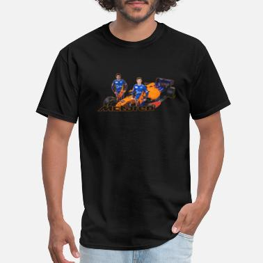 Carlo 1 McLaren F1 Team Lando Norris Carlos Sainz Jr - Men's T-Shirt