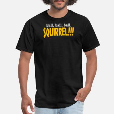 T-ball Ball Ball Ball Squirrel - Men's T-Shirt