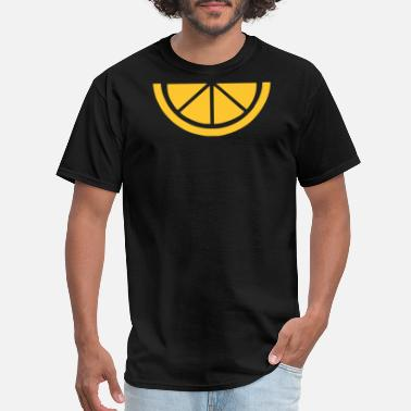 Lemon-slice Sliced Lemon - Men's T-Shirt
