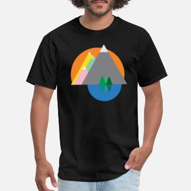 Graphic WILDERNESS - Cool Graphic Design for men and women - Men's T-Shirt