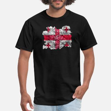 Vintage Georgia Georgia Vintage Flag - Men's T-Shirt