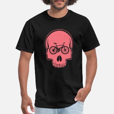 de21c890e Skull biker - mountainbiker, biking - Men's T-Shirt