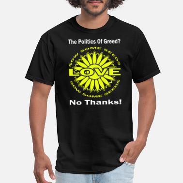 60s Politics Political The 80 s 60 s Hippy Anti Capitalism - Men's T-Shirt