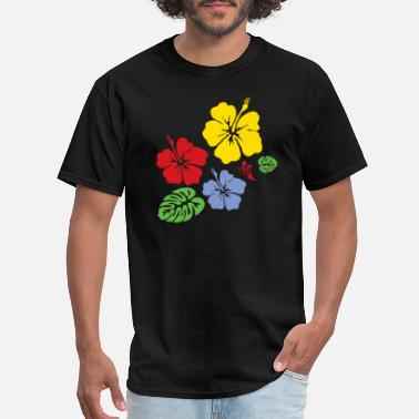 Flower Hibiscus - Men's T-Shirt