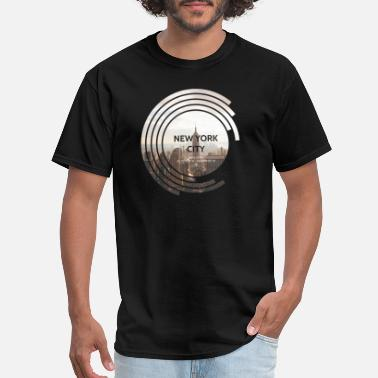 Building New York City - Empire State Building - Spectrum - Men's T-Shirt