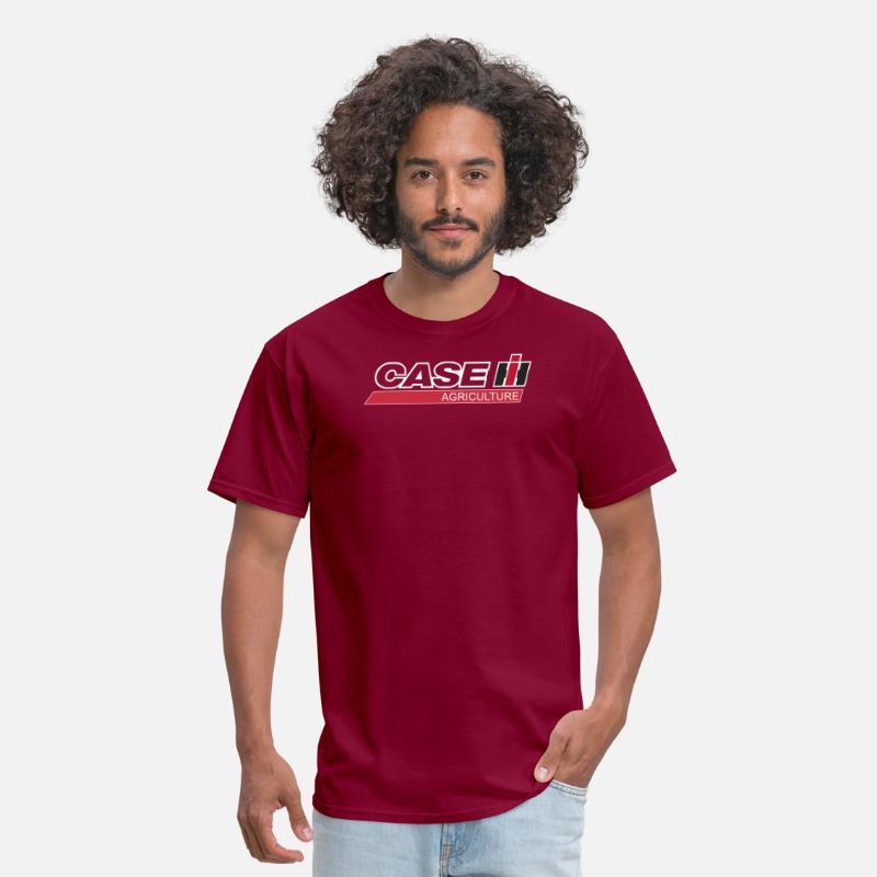 International Harvester Logo >> Case Ih Logo Agriculture International Harvester T Men S T Shirt Burgundy