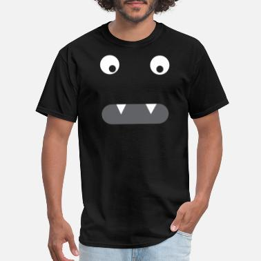 Vampire Smiley Vampir Monster Smiley Face - Men's T-Shirt