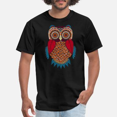 Hypnotic Hypnotic Owl - Men's T-Shirt