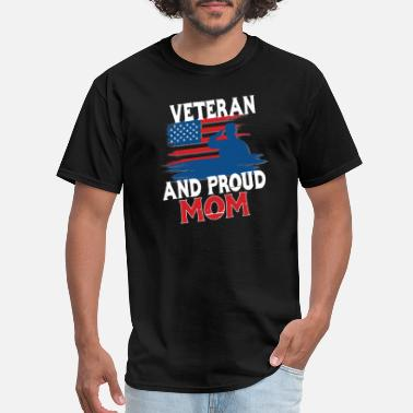 Proud Veteran Mom Proud Veteran Mom Gift - Men's T-Shirt