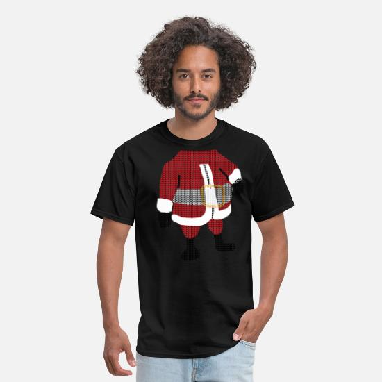 Christmas T-Shirts - santa - Men's T-Shirt black