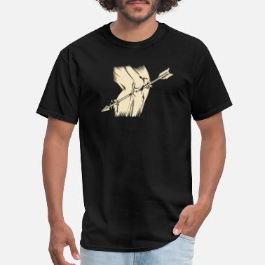 Knee Arrow To The Knee - Men's T-Shirt