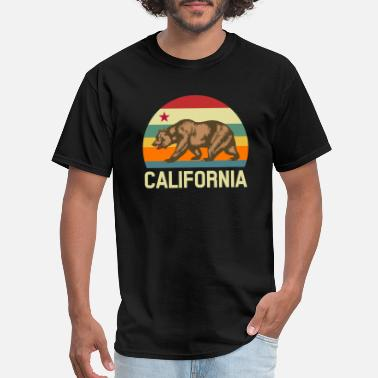 California Republic Flag California Republic State Flag - Men's T-Shirt