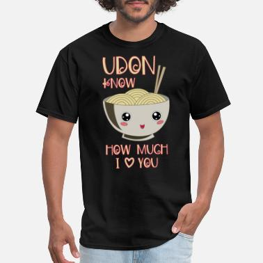 Ramen Noodle Soup Udon Bowl Japanese Noodle Miso Soup - Men's T-Shirt