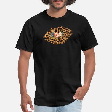 Leopard Leopard Lip - Men's T-Shirt