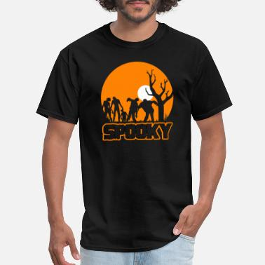Cart Spooky Silhouette - Men's T-Shirt