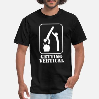 Vertical Getting Vertical - Men's T-Shirt
